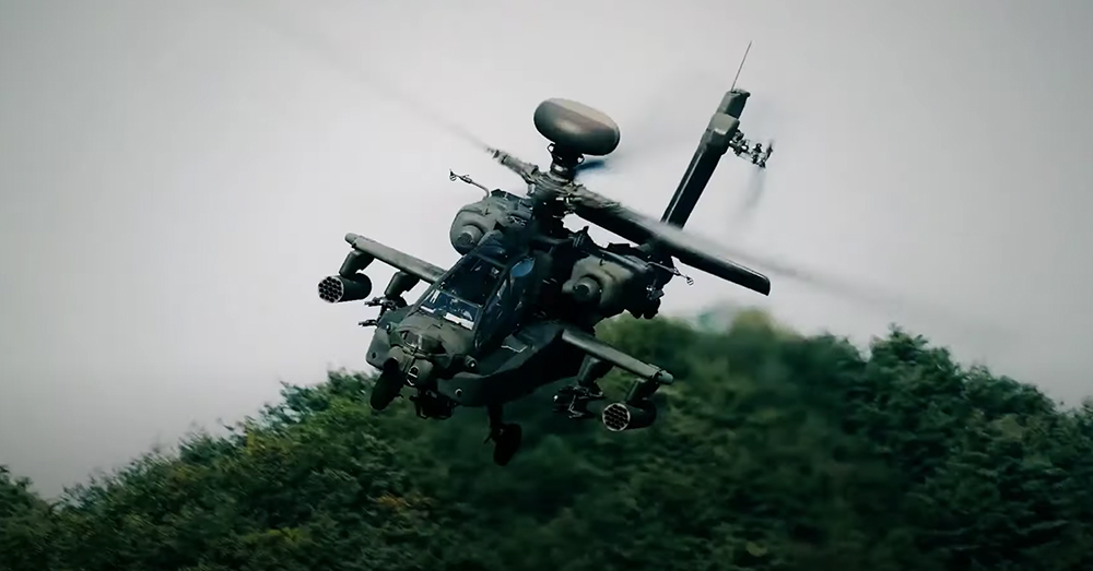 The Apache is as deadly accurate as they come.