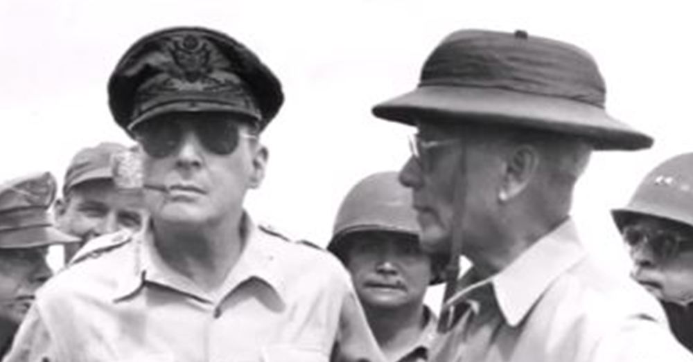 American and Allied forces fought many battles in the Pacific under MacArthur's command.