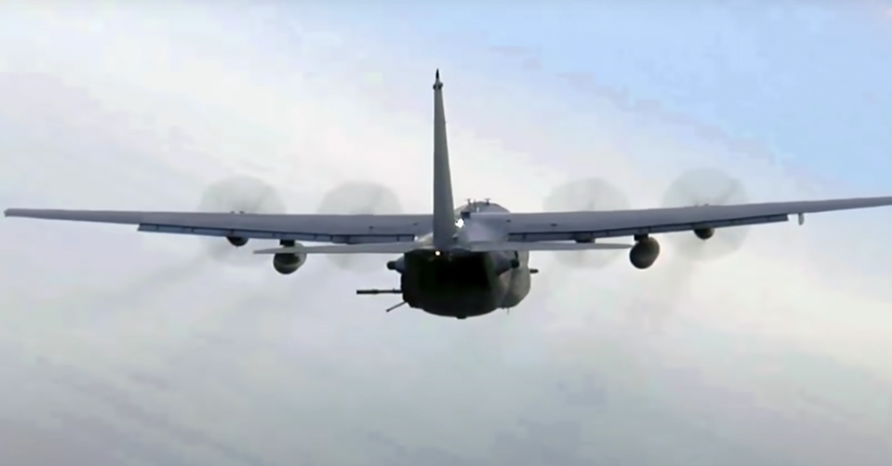 The AC-130 is colloquially known as