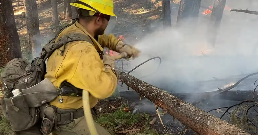 More than 3,900 personnel including aerial and ground crews from Cal Fire and the U.S. Forest Service are working to fight the August Complex fire.