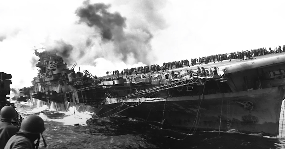 The Battle of Lete Gulf was a turning point of WWII.