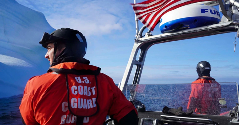 The USCG Campbell patrolled over 10,000 nautical miles in the arctic waters surrounding Greenland.