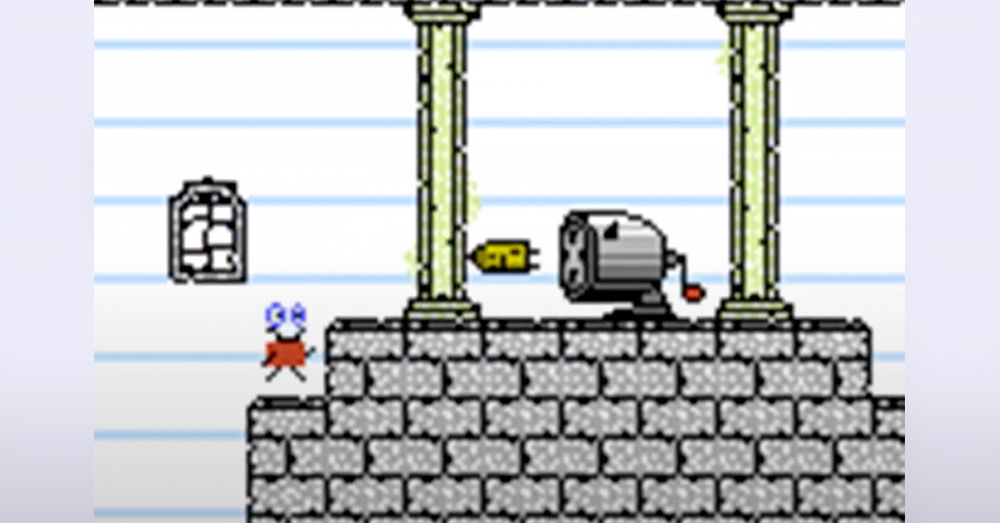 Doodle World is available for the original NES console.