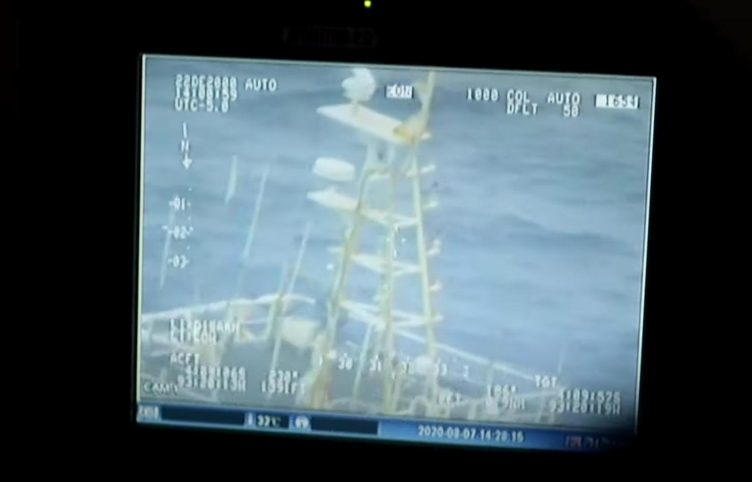 The Ecuadorian Navy monitors activity around the EEZ.