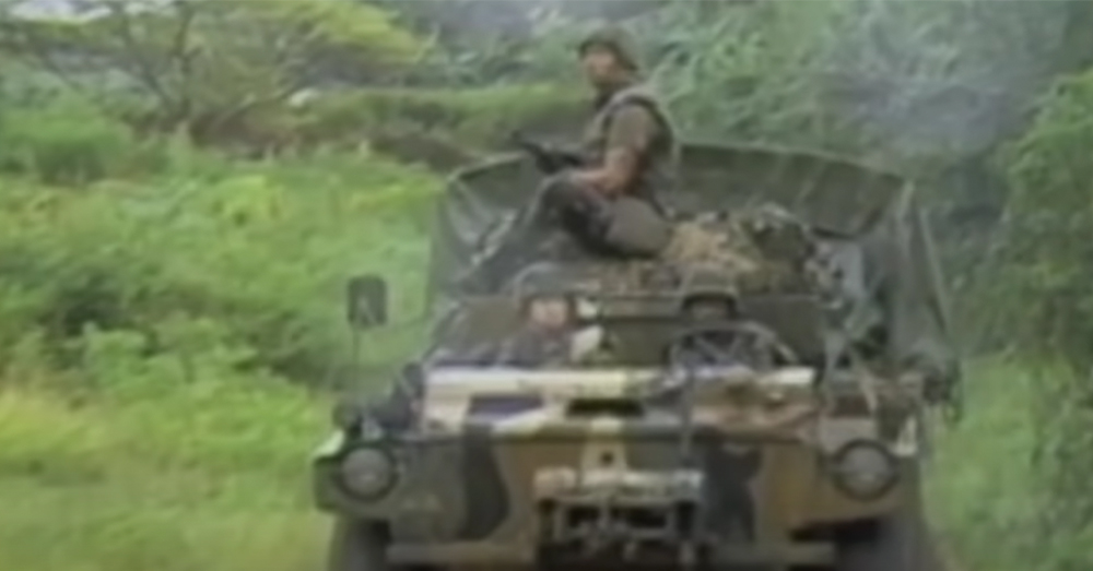 Peace Force troops from the U.S. and seven Caribbean nations took part in Operation Urgent Fury.