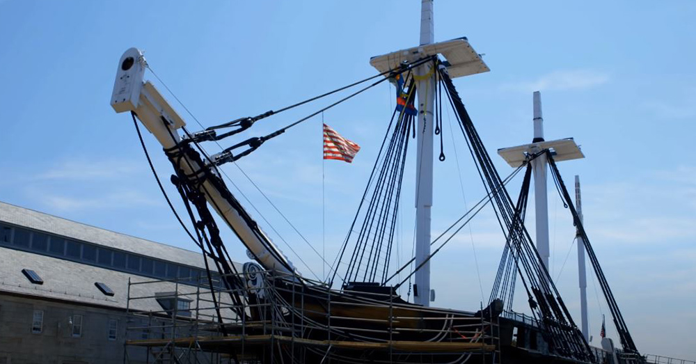 The USS Constitution is 220 years old.