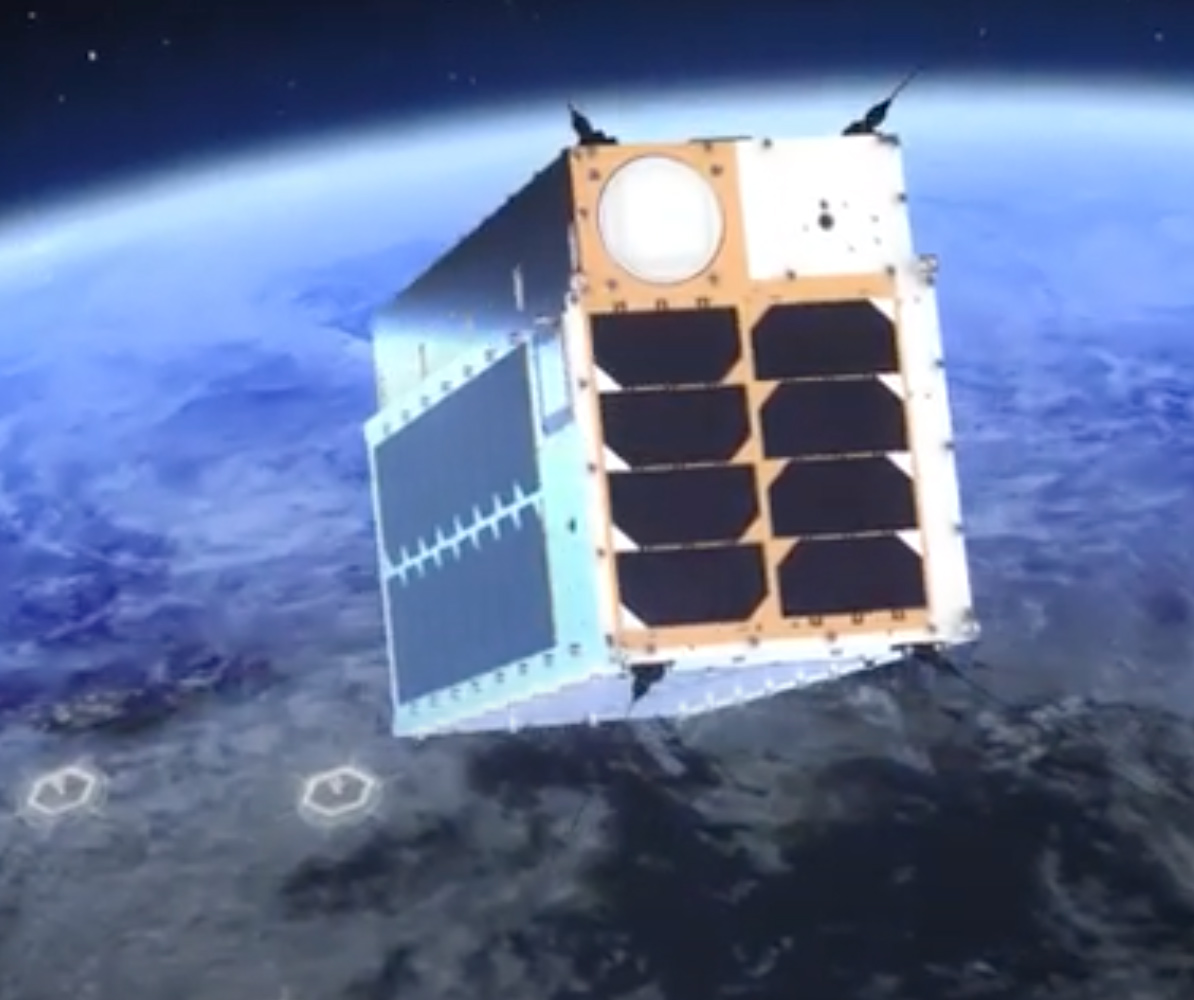 The GHGSat system uses satellites that track methane emissions throughout the world.