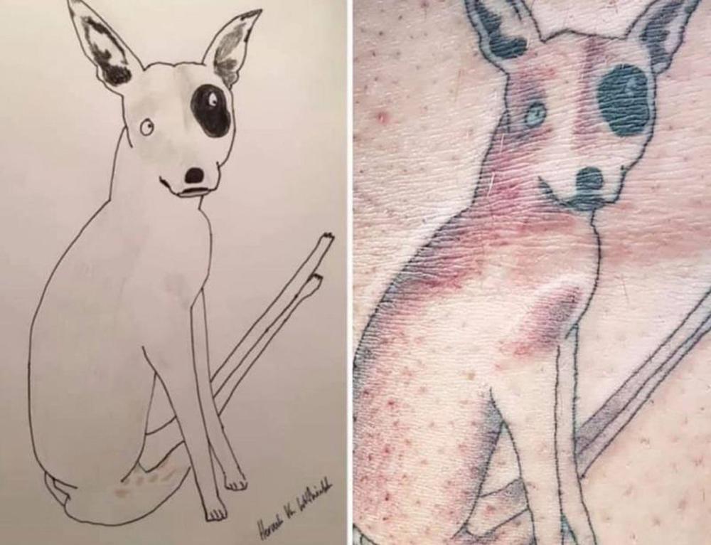 One individual even got an original Van Wolfwinkle tattoo!