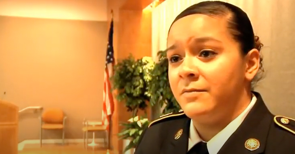 Sgt. Beltran responded with suppressive fire when her convoy came under a very heavy ambush attack.