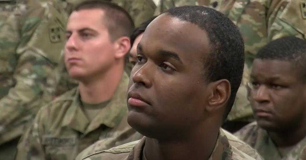 Beckles helped defend his team during a Taliban ambush.