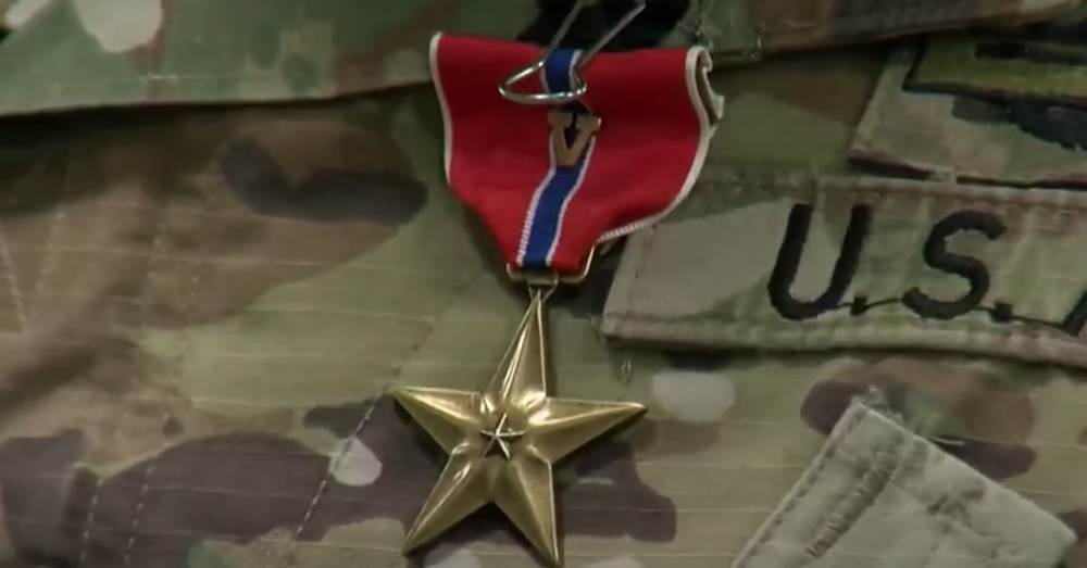 Beckles has been awarded the Bronze Star with
