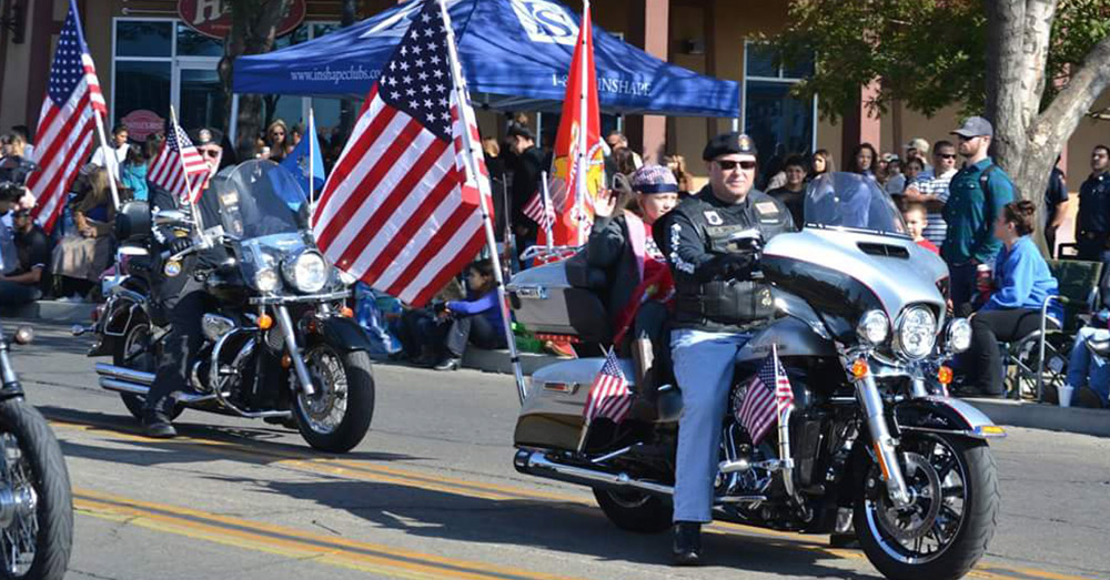 A film of the parade will be shown throughout California's Central Valley on Veterans Day.
