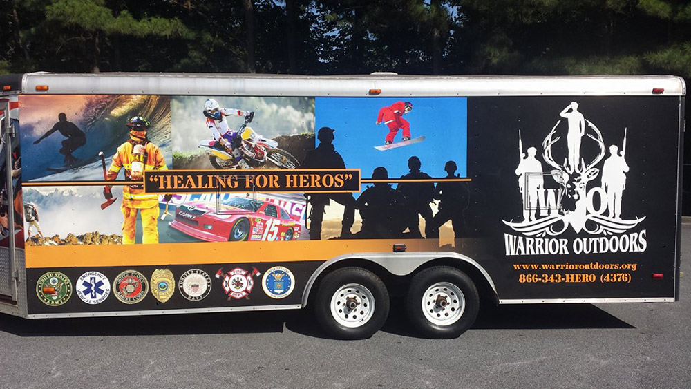 Warror Outdoors' mission is to honor current and former service members by using the outdoors as a means to heal.