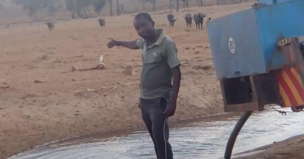 Patrick Kilonzo Mwalua is known as the Water Man of Kenya.