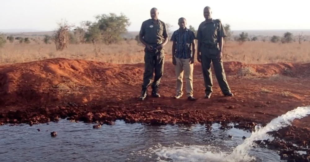 Droughts have dried up the once flourishing plains of Kenya.