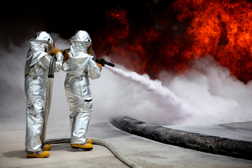 PFAS is a commonly used chemical in fire fighting foams.