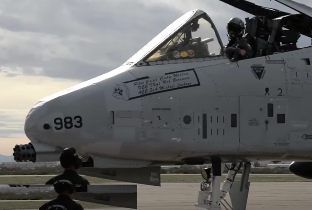 The A-10 Warthog is now built by Northrup Grumman.