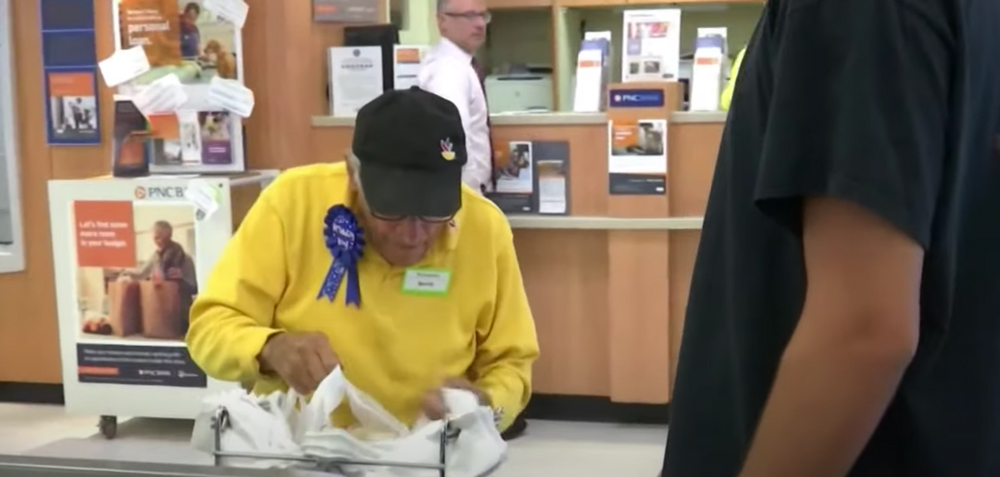 This veteran is nearly 100, and still values a hard day's work!