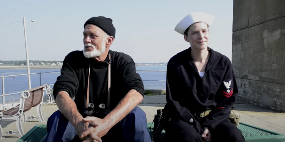 These enactors portray members of the USCG Beach Patrol.