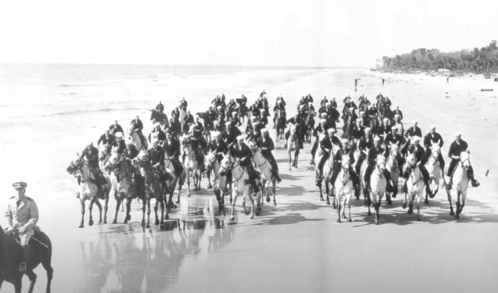 The Coast Guard Beach Patrol once galloped along the shores of the United States.