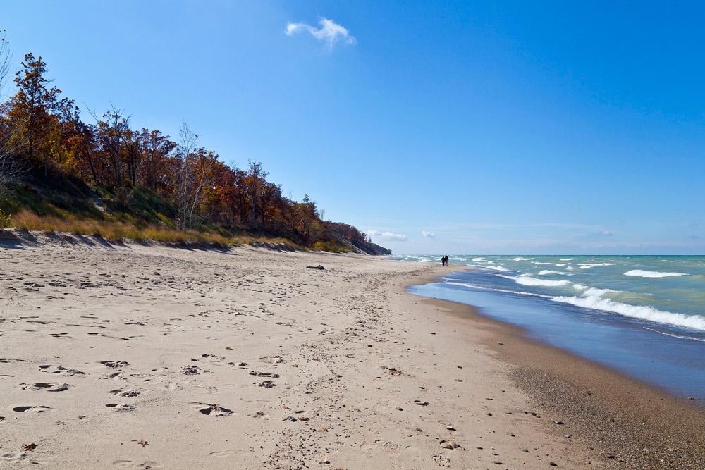 Indiana Dunes National Lakeshore, Michigan City, Indiana, USA.