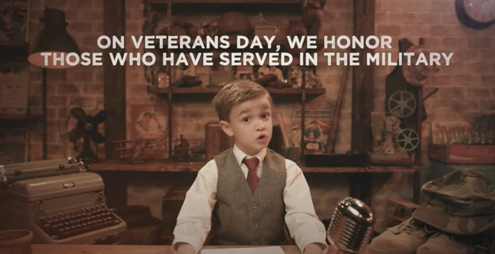 We honor those who have served on Veterans Day.