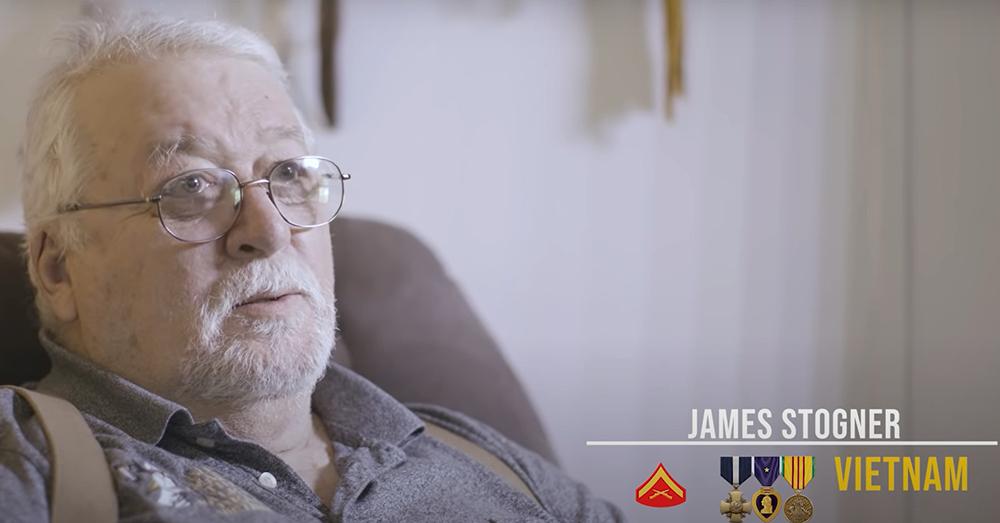 James Stogner served in the Vietnam War.