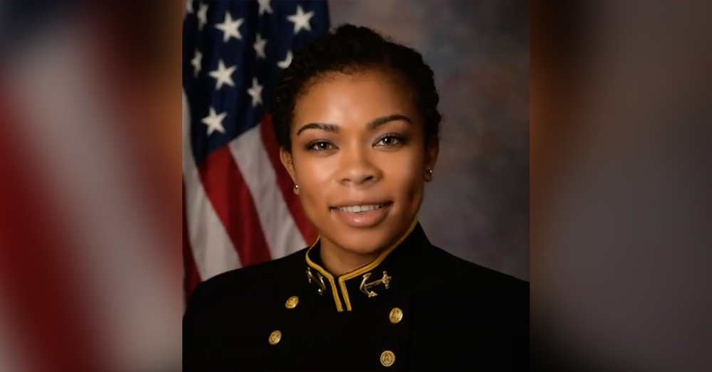 Midshipman 1st Class Sydney Barber will be the new Brigade Commander for the Naval Academy.