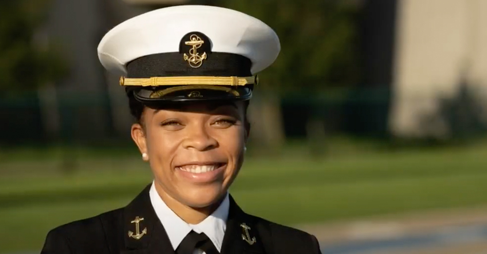 Barber will lead the entire midshipman corps of the USNA.