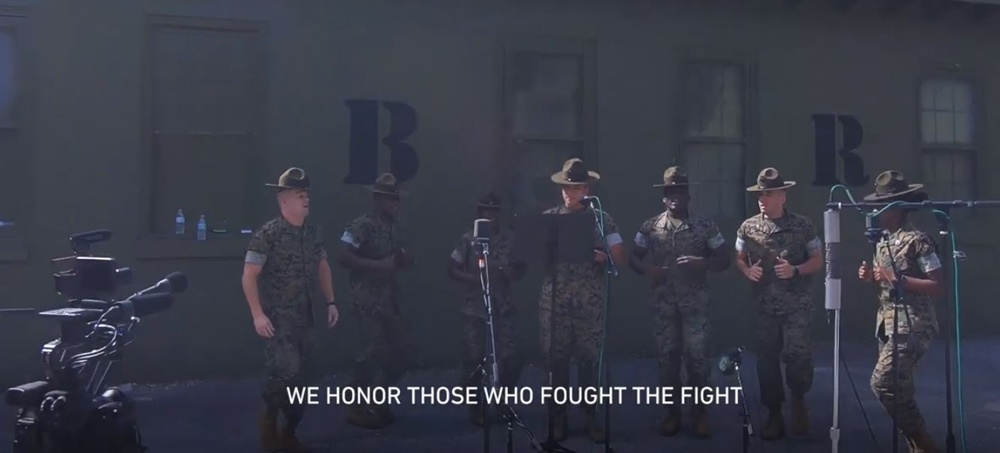 We honor those who fought the fight.