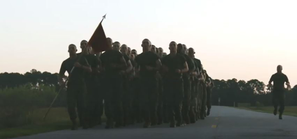 The US Marine Corps has a cadence for its birthday on Nov. 10.