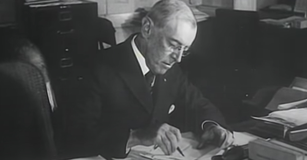 In November 1919, President Wilson proclaimed November 11 as the first commemoration of Armistice Day.