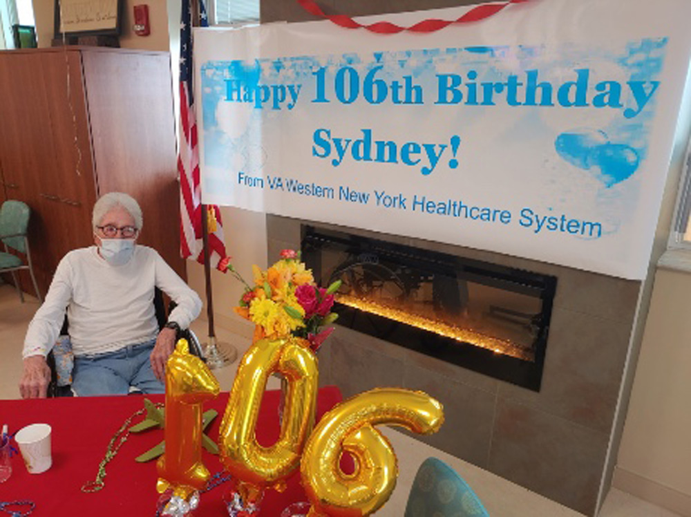 Cole recently turned 106.