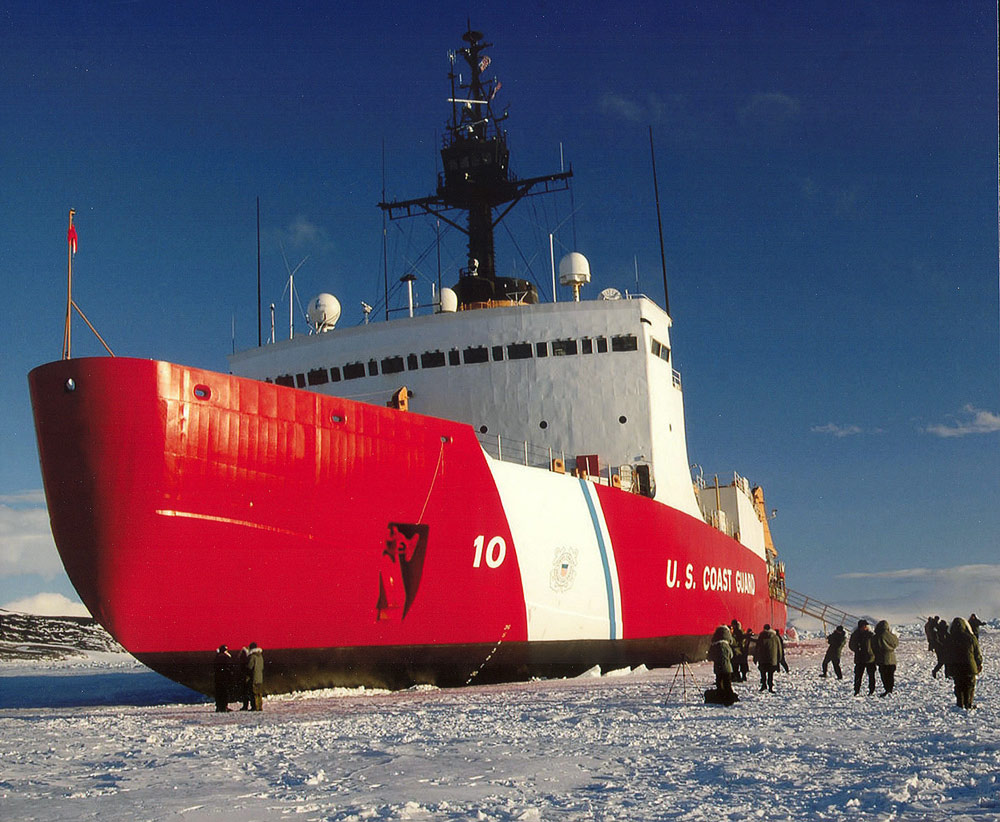 The U.S. has a limited number of icebreaking ships in comparison to Canada and Russia.