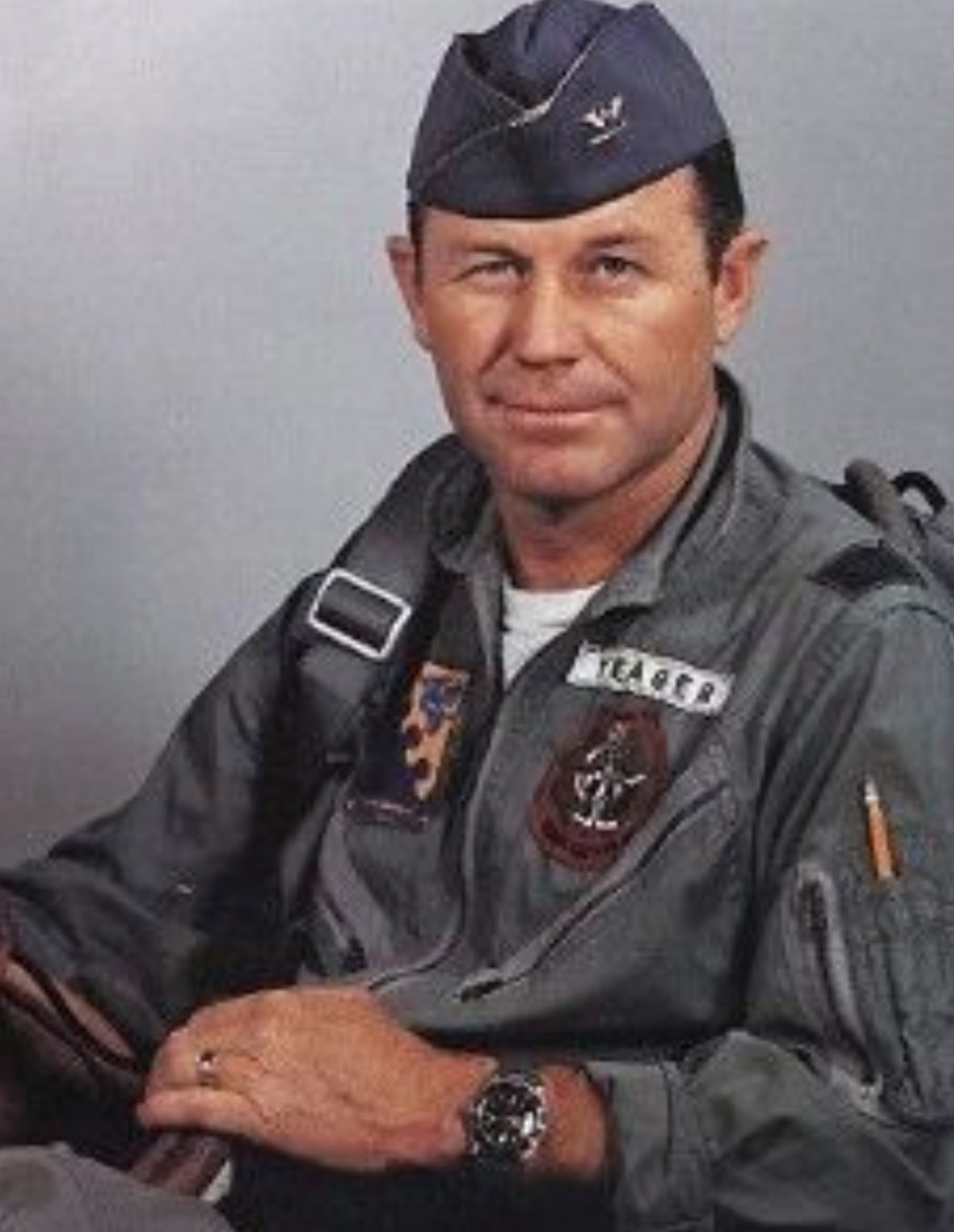 Chuck Yeager was 97 when he died.