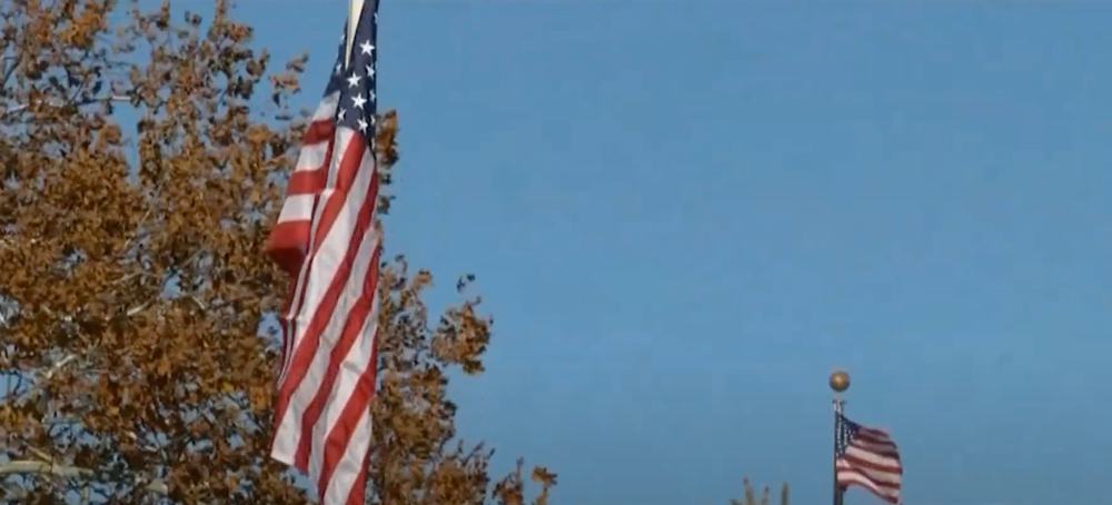 The program has so far seen 400 flags replaced across the U.S.