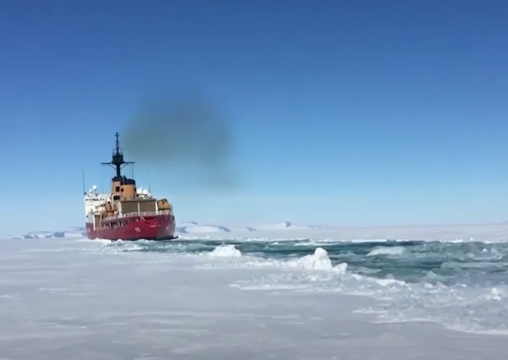 The USCG Icebreaker Polar Star is one of only a few icebreakers in the USCG fleet.