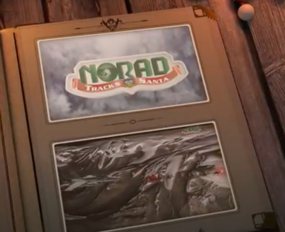 Children (and adults) can see Santa's progress on NORAD's website.
