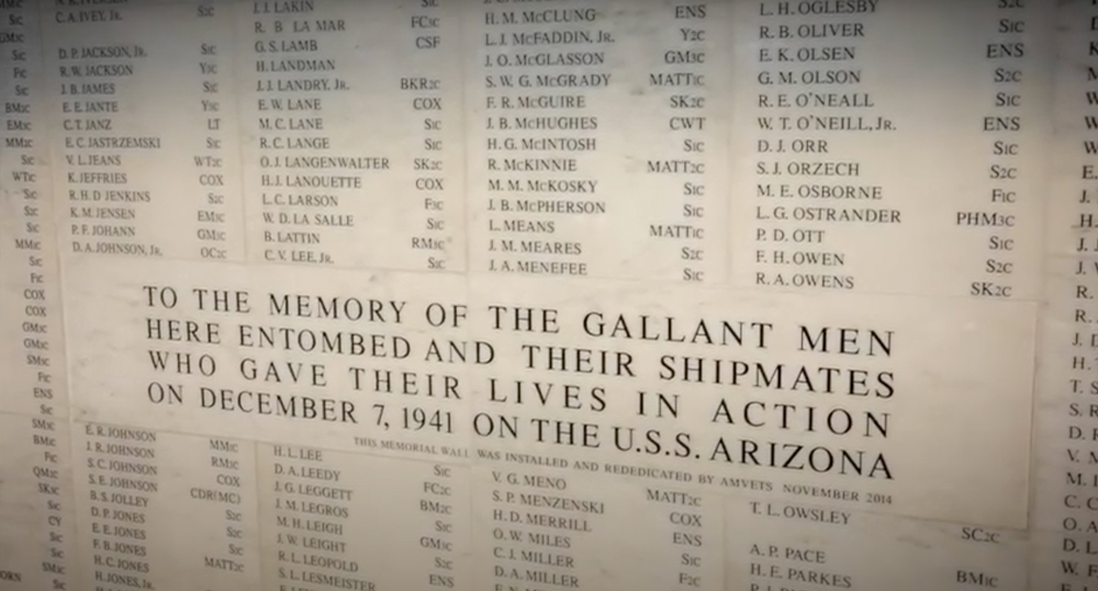 Many service members dies in the attack. Memorialized today on a monument.