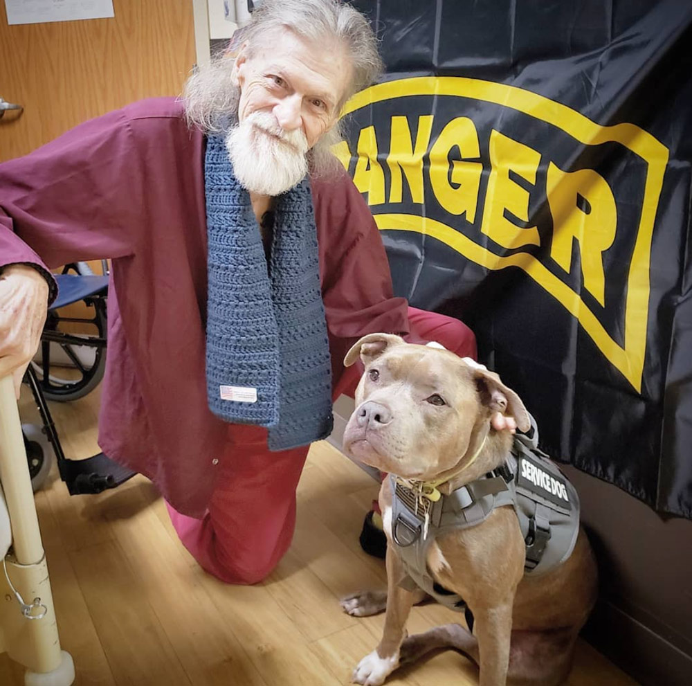 Roxy meets Vietnam veteran Sgt. Calvin Corley, an Army Ranger in the 101st Airborne division.
