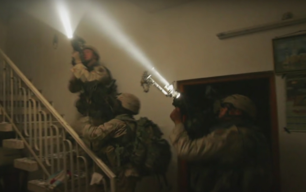 SSgt. David Bellavia was leading his team through a darkened house in Fallujah, Iraq.