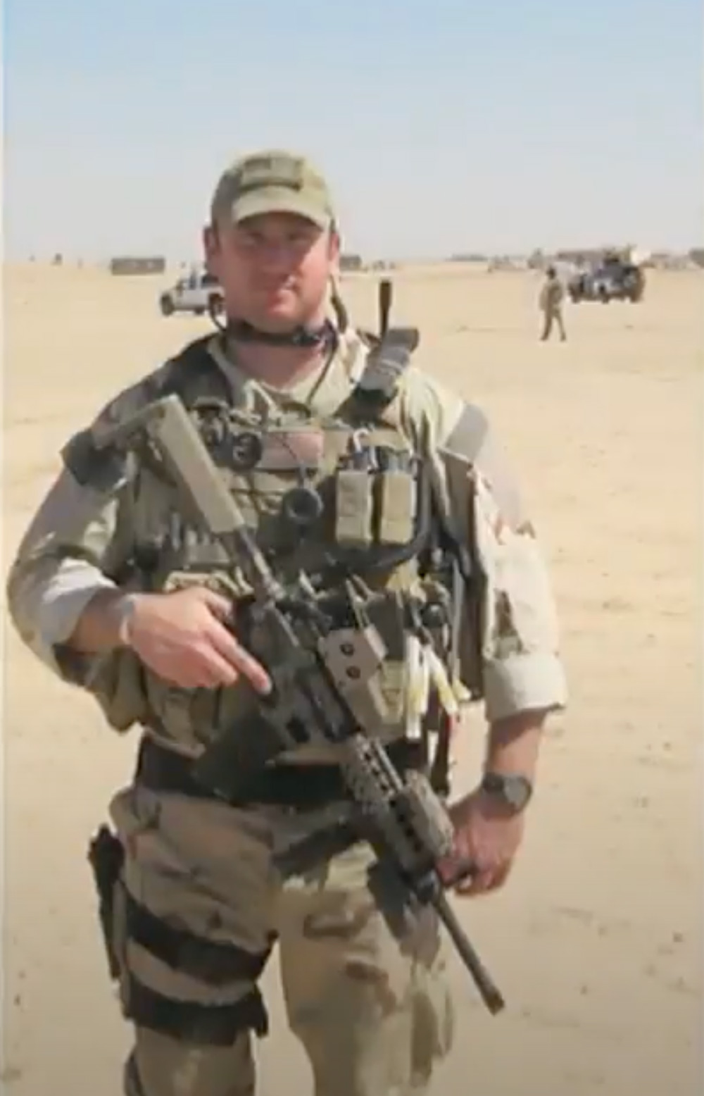 US Army Sergeant First Class Richard Stayskal was instrumental in getting the Stayskal Act signed into law.
