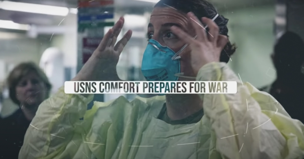 Medical staff aboard the USNS Comfort helped greatly during the COVID-19 pandemic.