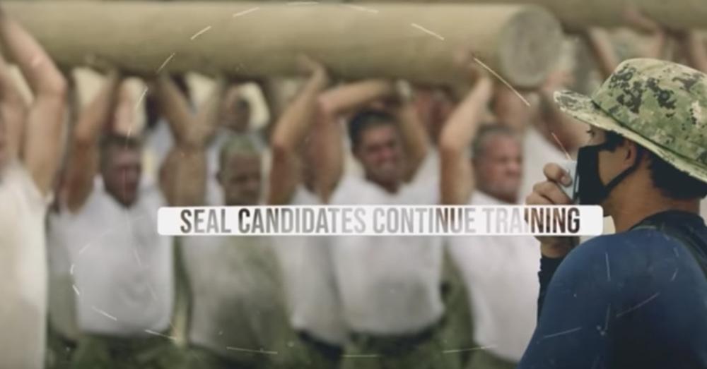 Navy SEALS in training.