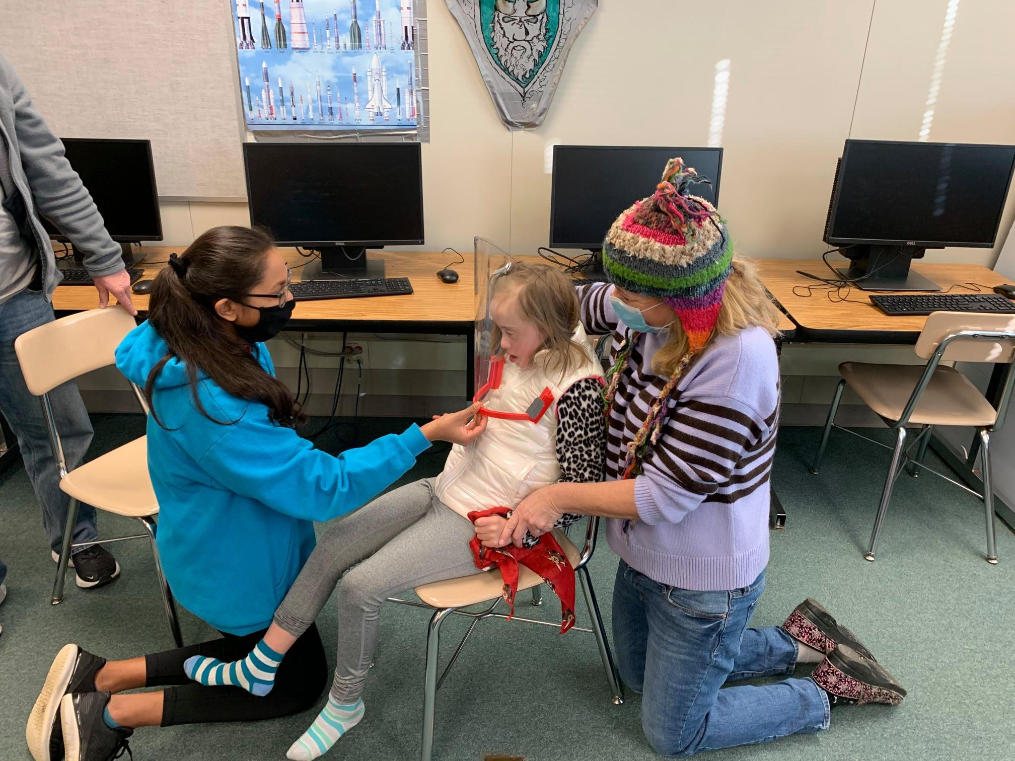 engineering program face mask child autism
