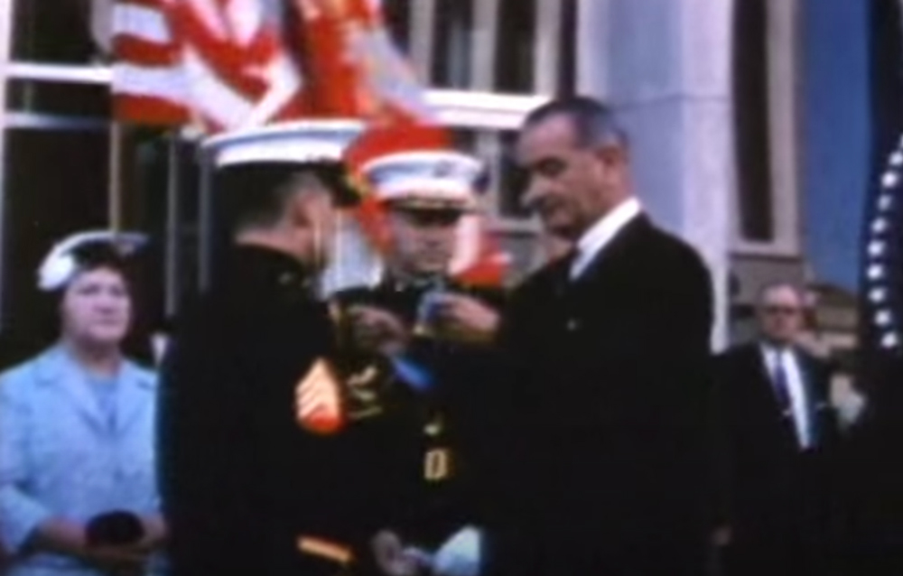 O'Malley became the first living Marine to be awarded the Medal of Honor for his actions in Vietnam.