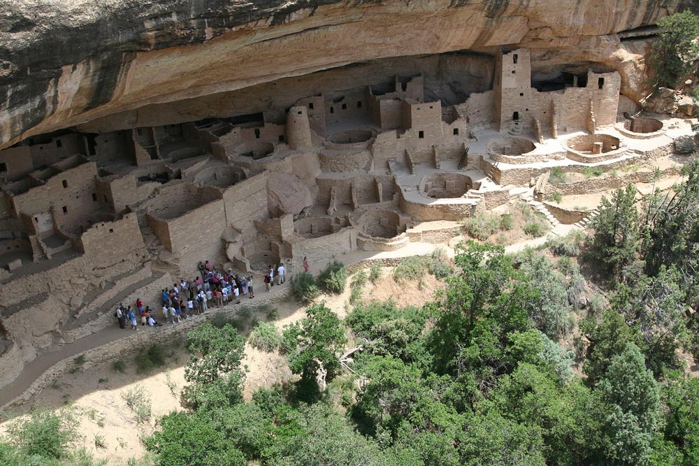 Mesa Verde National Park was designated a World Heritage Site in 1978.