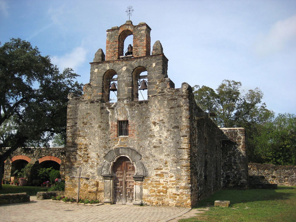 Five frontier mission complexes situated along a stretch of the San Antonio River basin in southern Texas are World Heritage Sites.