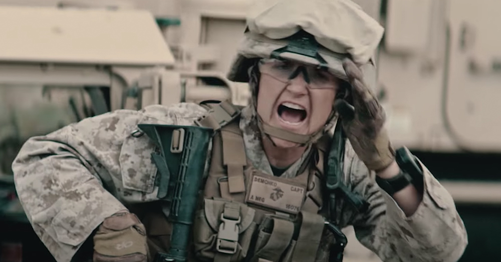 Female Marines now make up about 6% of the Marine Corps.