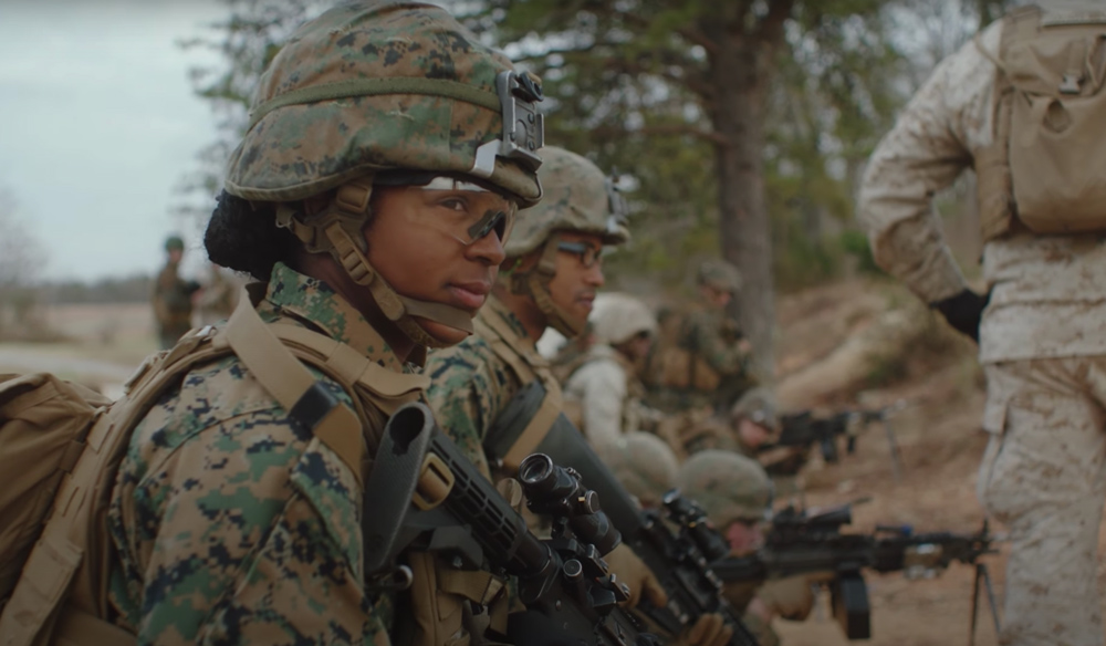 Today, women serve in 93% of the Marine Corps MOSs.